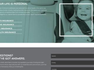 Van Leer Insurance - Website Development