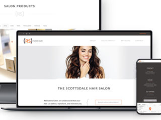 Rumors Salon - Website Redesign
