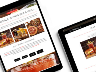 K O'Donnell's - Website Redesign